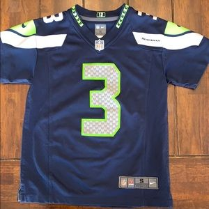 Boys Seahawks Russel Wilson authentic jersey